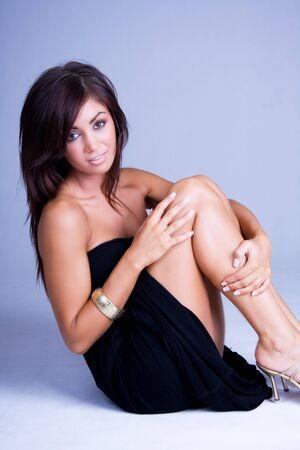 beautiful brunette girl Stock Photo - 4427990