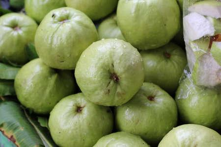 guava fruit: guava fruit of thailand