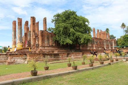 ruin: ruin of thailand