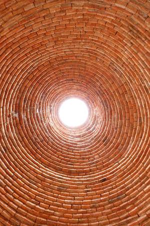 Hole wall lighting photo