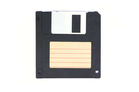 floppy disc on white background