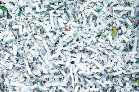 la seguridad tiras de papel de reciclaje secreto de fondo