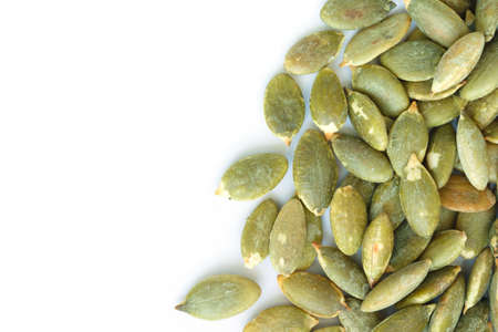 pumpkin seeds for planting Stock Photo