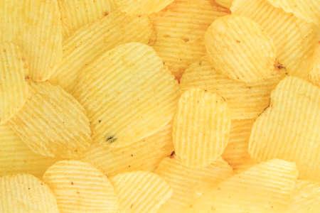 crispy potato chips junk food unhealthy food