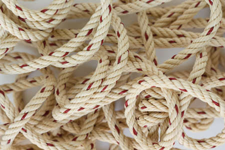 twine: rope knot string twine brown nautical