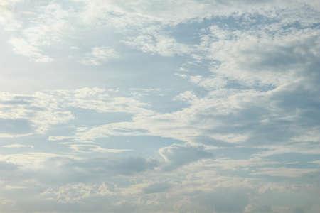 sky clouds season rain cumulus Stock Photo