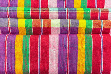 multicolor classic tablecloth texture, background with copy space