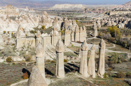 anatolia: Volcanic rock landscape, Cappadocia, Turkey, Anatolia, Goreme national park
