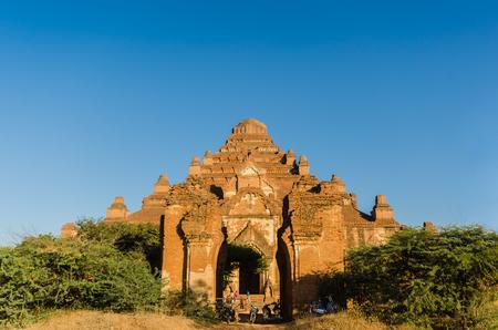 biggest: Dhammayangyi temple The biggest Temple in Bagan (Pagan) at sunset, Myanmar