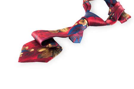 necktie: necktie on isolate background