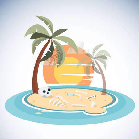 hopeless: dead island - illustration Illustration