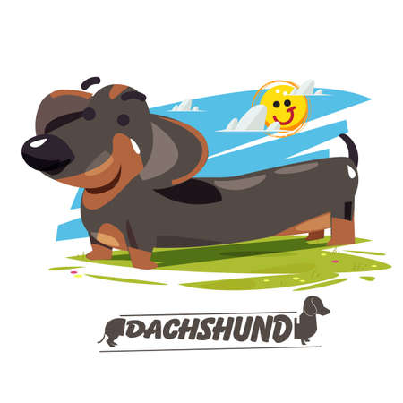 Long Dachshund icon.