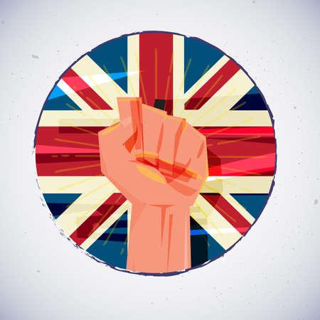 clout: Fist icon.
