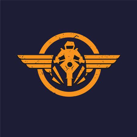 Auto wing, Automotive icon design - vector illustration
