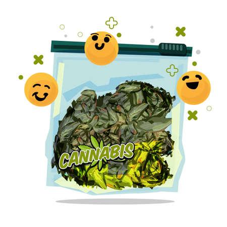 marijuana in bag