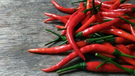 Fresh Red Chili Stock Photo