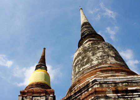ayutthaya pagoda. Standard-Bild
