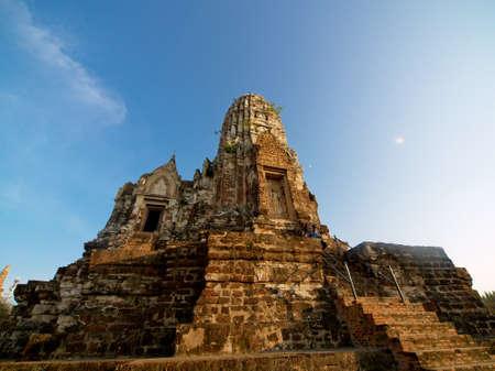 castle ayutthaya. Standard-Bild