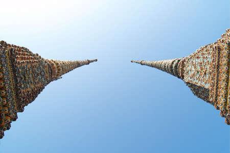 two pagoda.