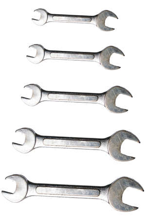 silver wrench