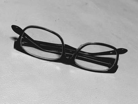 Black glasses for blind vision