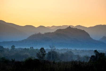 mountains at LamPhun, Thailand