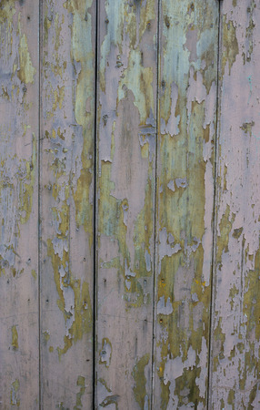 flaking: Fence With Flaking Paint Stock Photo