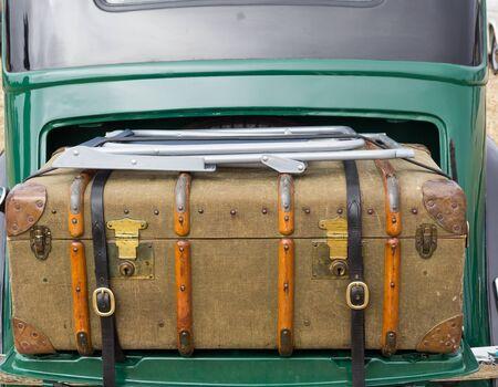 strapped: Vintage Case in  Car
