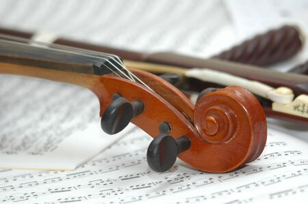 violin with erhu Stock Photo - 2290361