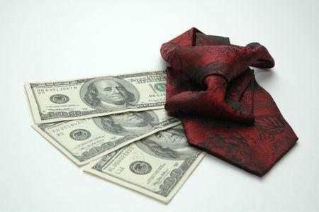 cash cow: money with tie
