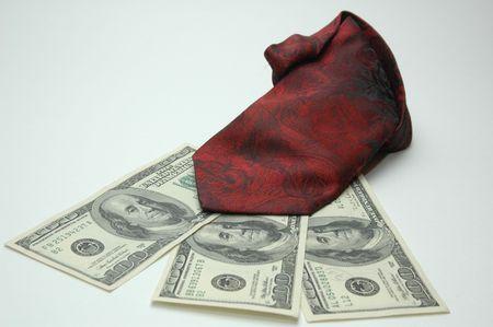 money with tie photo