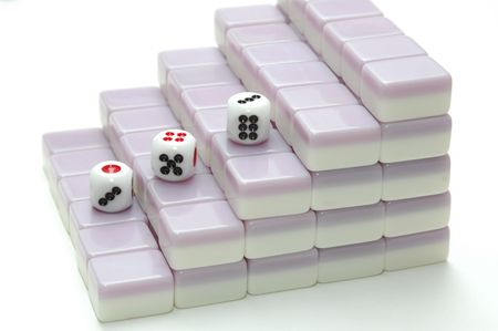 chinese mahjong game photo
