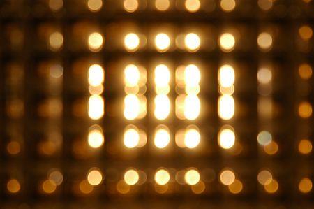 dullness: Light art, photo taken at different camera setting,