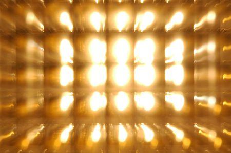 Light art, photo taken at different camera setting, Stock Photo - 2834282