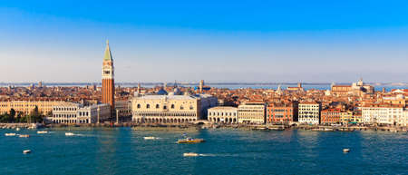 Panorama Piazza San Marco in Venice, view from the top photo
