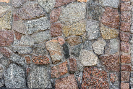 Pattern of stone wall background. 写真素材