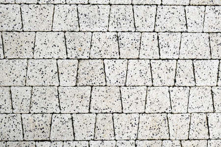 Texture of tiles of modern Pavement close-up. Abstract tiled wall Background.  Stok Fotoğraf