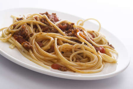 Spachetti bolognese Stock Photo - 14080104