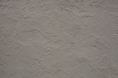 Texture of gray plastered wall