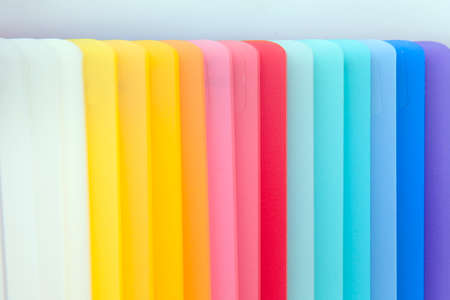 Colored Acrylic Composition Stock Photo