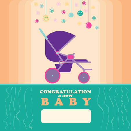 new born: Baby New Born Greeting Card 2