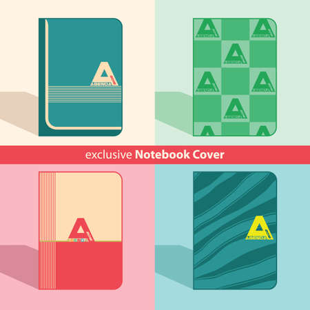 notebook cover: Exclusive Notebook Agenda Cover