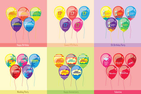 sweet seventeen: Type Of Balloons Party
