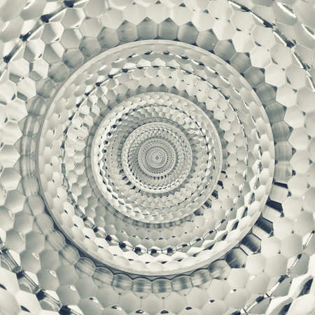 stock photo: reflector mosaic seamless abstract metallic fractal