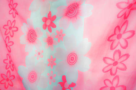 bed linen: Pink Floral Bed Linen Texture