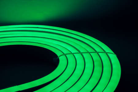 lightbar: Green Led Direct Light Neat Circular option 2