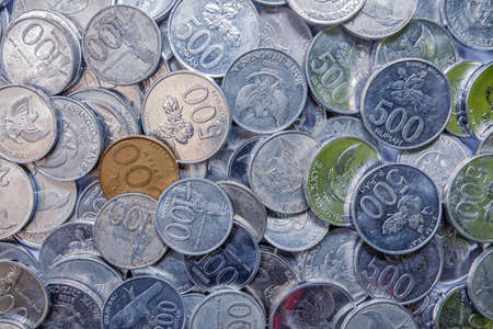 rupiah: Indonesian Coins Rupiah Photo