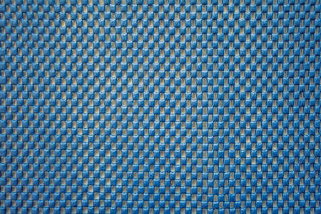 grid background: blue square mosaic block texture