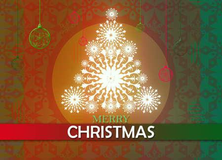 greeting christmas: merry christmas greeting card Stock Photo