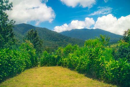 hochalpenstrasse: mountain landscape Stock Photo